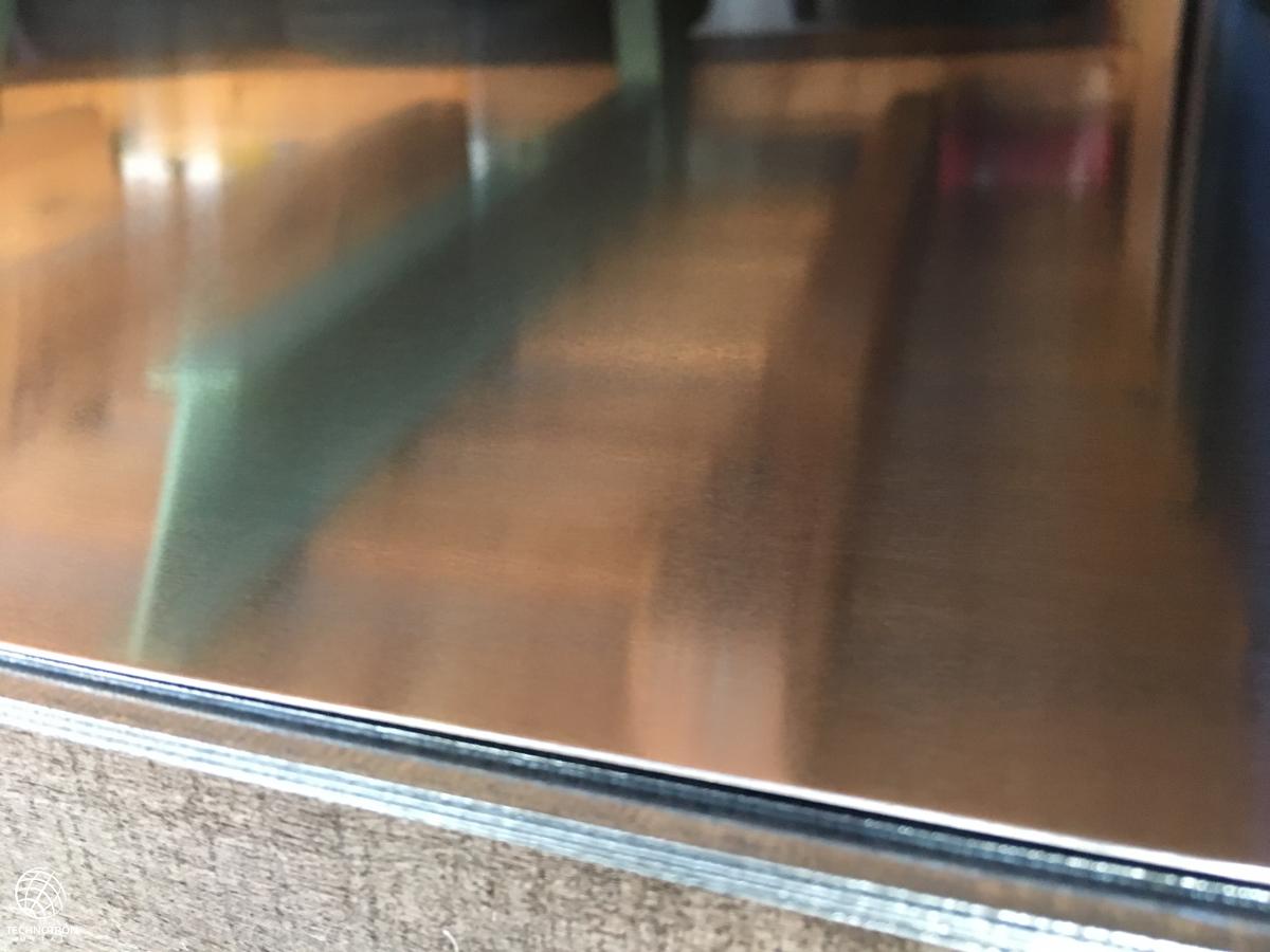 Hliníkový plech formát 0,8x1000x2000mm přírodní