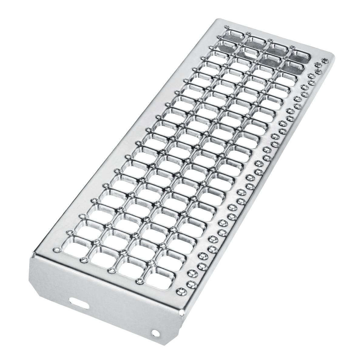 Schodišťový stupeň - B - Cube R12/V10, nášlap šíře 1000 mm