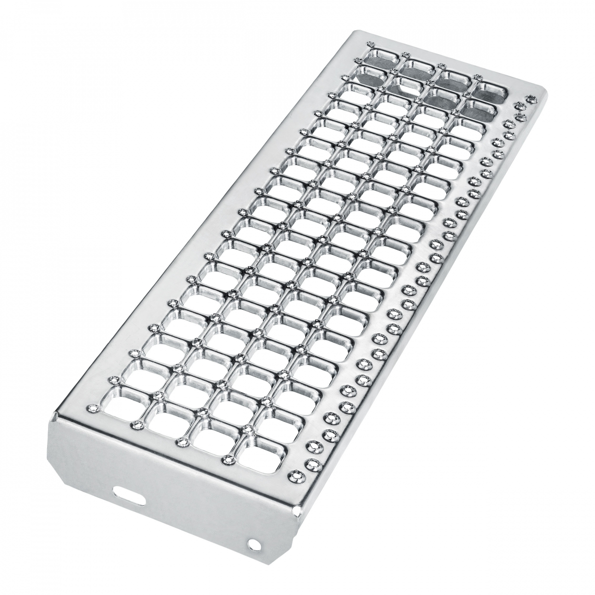 Schodišťový stupeň - B - Cube R12/V10, nášlap šíře 800 mm