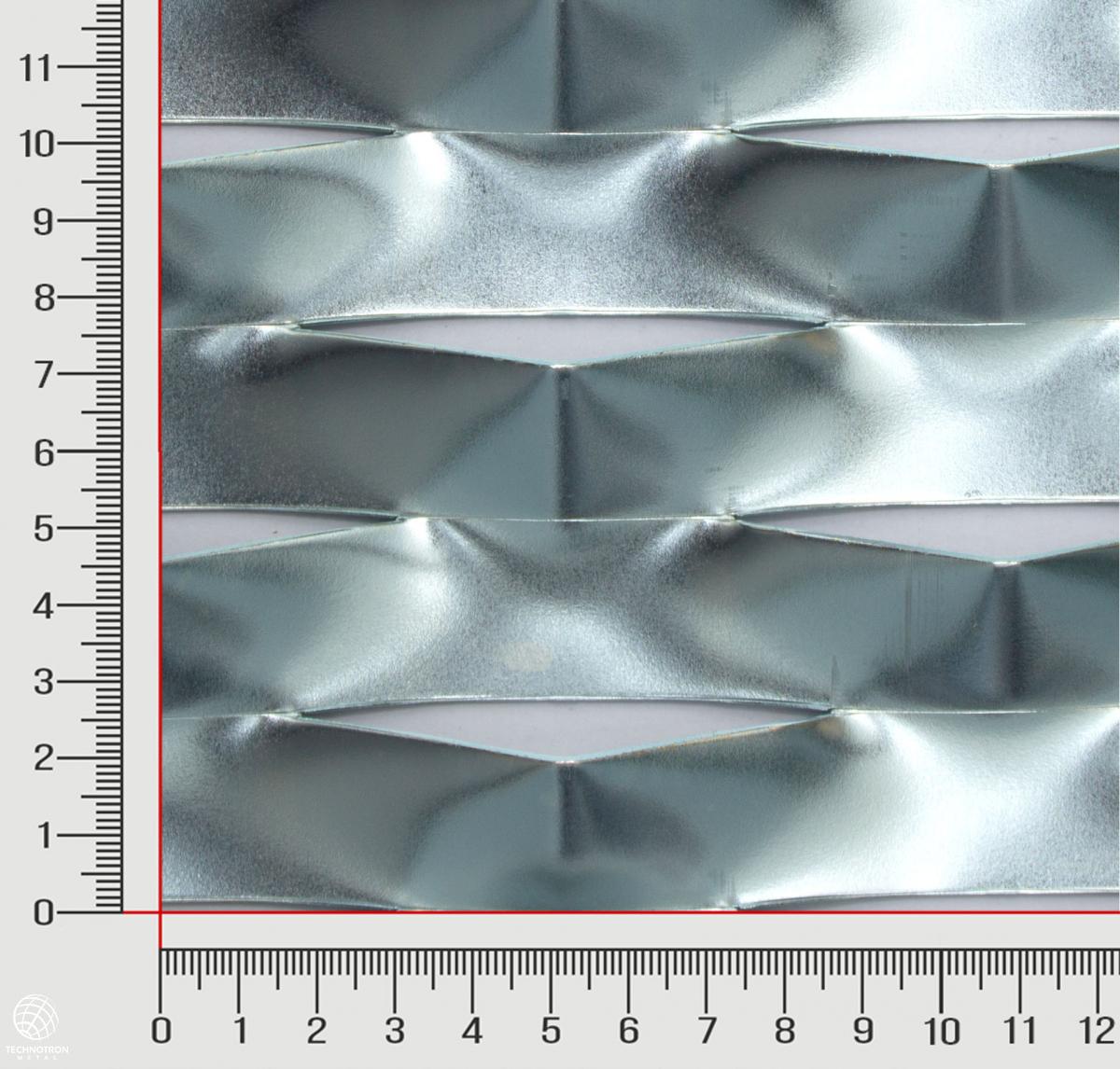 Plotová výplň Relax TR 115 x 52 x 24 mm; tloušťka 1,5 mm tahokov z ocelového plechu DC01-DC05