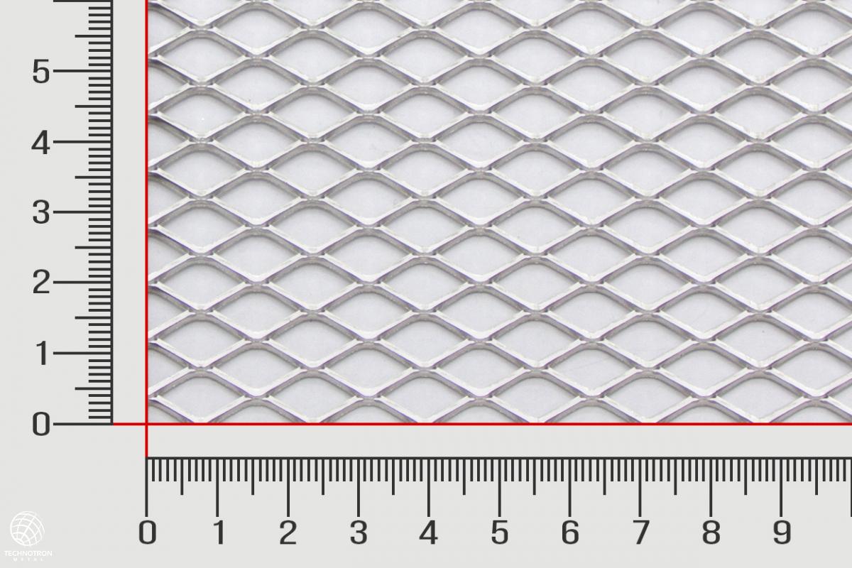 Tahokov TR 16 x 8 x 1,5 mm, 1x1000x2000 mm, tahokov z hliníkového plechu ENAW1050