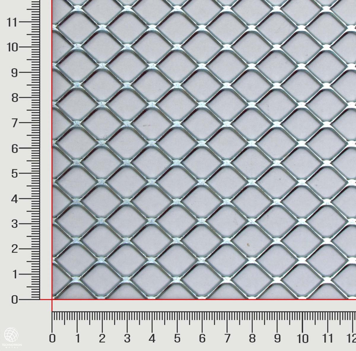 Tahokov FQ 20 x 15 x 1,7 mm,  válcovaný, Tahokov z ocelového plechu DC01 - DC05