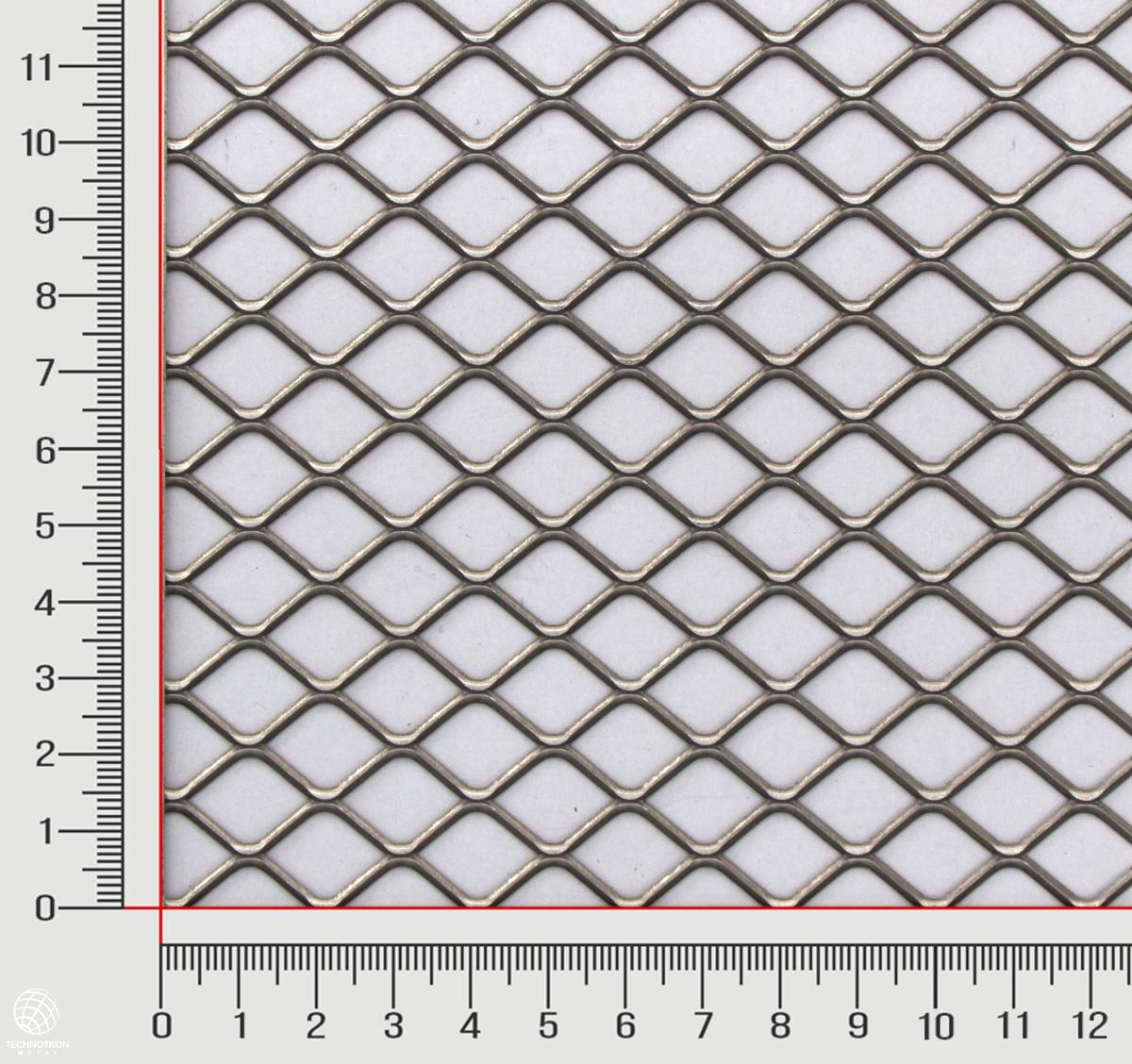 Tahokov FQ 20 x 15 x 1,7 mm,  1,5x1000x2000 mm, válcovaný, Tahokov z nerezového plechu 1.4301 - 1.4307
