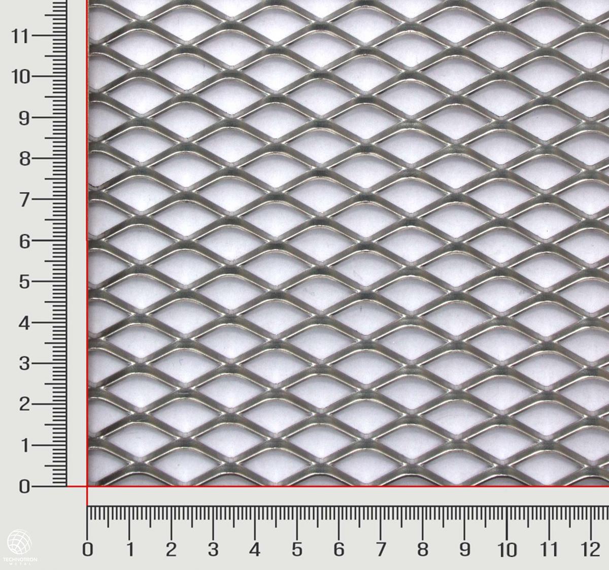Tahokov TR 22 x 12 x 2,5 mm,  1x1000x2000 mm, tahokov z hliníkového plechu ENAW1050