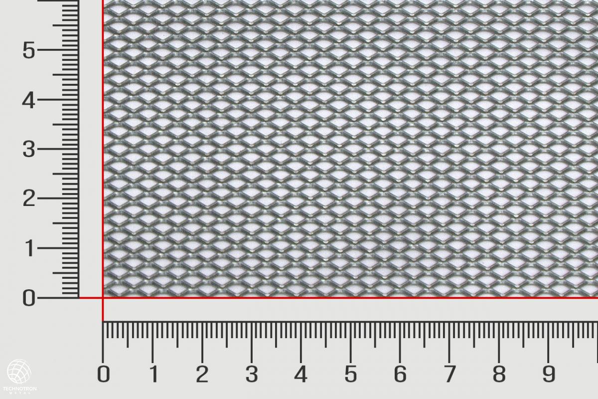 Tahokov TR 6 x 3,4 x 1 mm, 0,5x1250x2500mm, Tahokov z pozinkovaného plechu DX51D+Z - DX55D