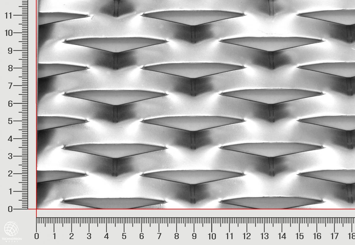 Flexibility tahokov TR 90 x 32 x 13 x 1,5 mm; z ocelového plechu DC01 - DC05