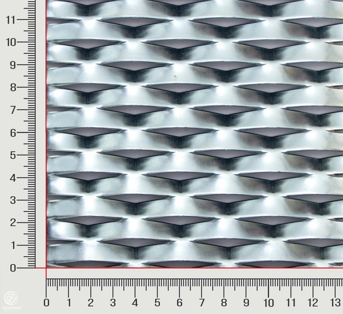 Play tahokov TR 42 x 20 x 9 mm, 1,5x2000x1500 mm, z ocelového plechu DC01-DC05