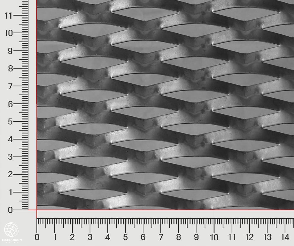 Tahokov Target TR 62,5 x  20 x 7,5 x 2 mm, tahokov z hliníkového plechu ENAW1050