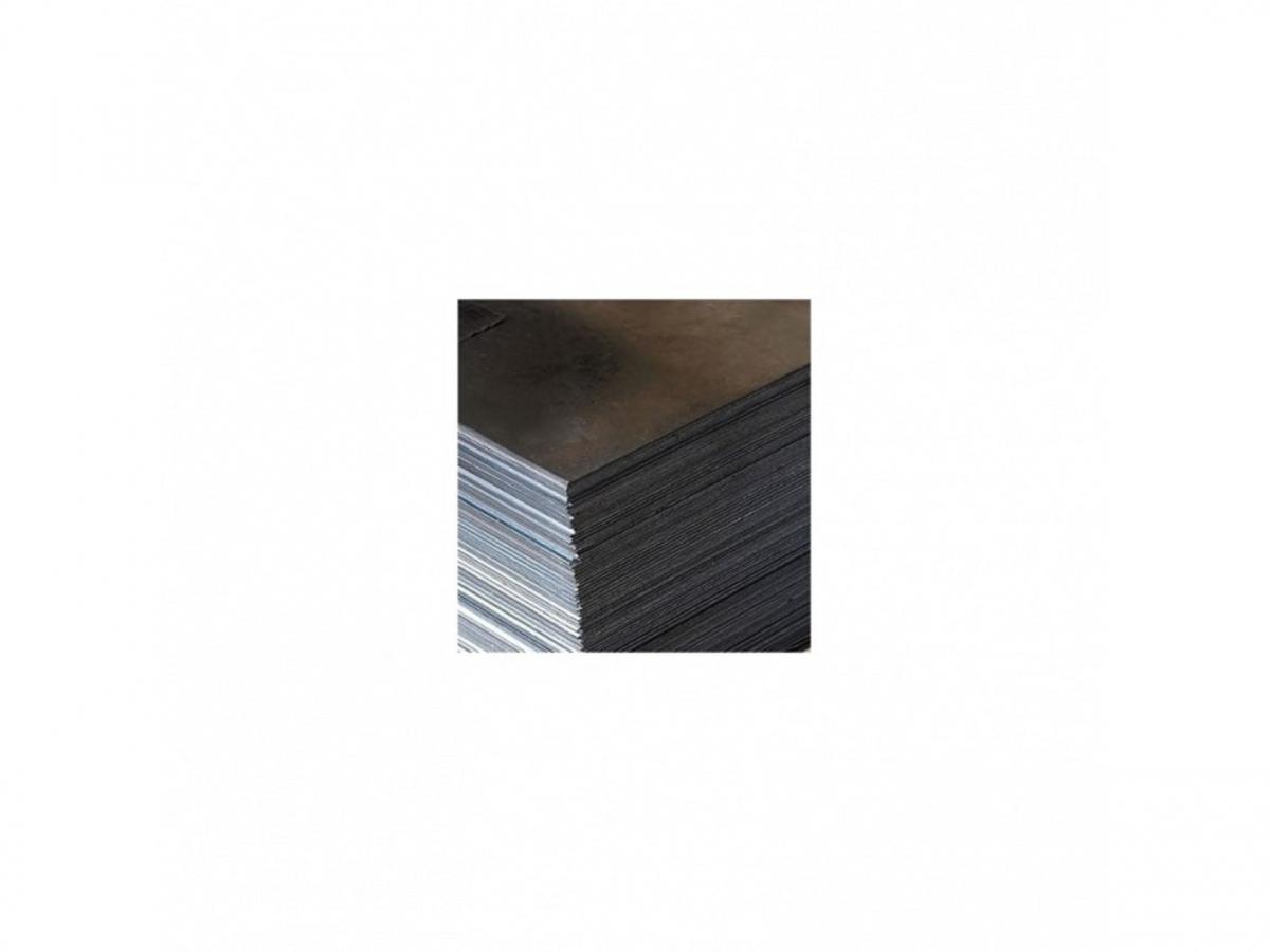 Ocelový plech  6x1500x1980, DD 11,mořený