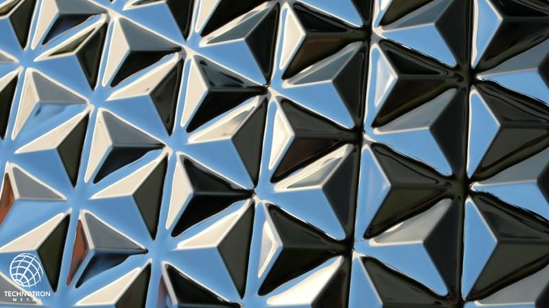 3D plech Pyramid