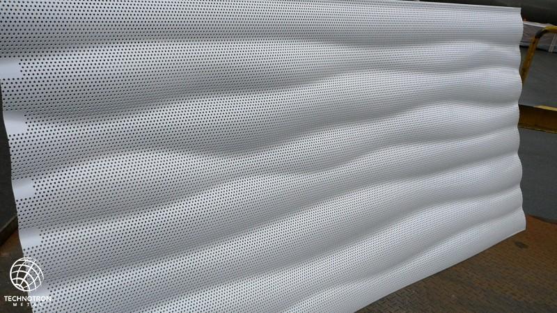 3D plech Waves