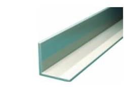 Hliníkový L profil 40x40x3 mm délka 6000 mm, materiál EN AW-6060 T6