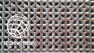 Secese; SO - ozdobné prohloubené,  28-56;  tloušťka 1 mm, Děrovaný ocelový plech DC01-DC05
