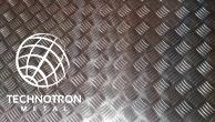 Slzičkový protiskluzový hliníkový plech Quintet 5/7 mm