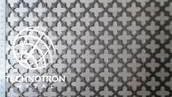 SO - ozdobné křížek,křížek přesazeně  19x19;  tloušťka 1,5 mm, Děrovaný ocelový plech DC01-DC05