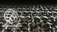 Žebérkové pletivo 30 x 30, průměr drátu 3 mm, materiál nerez 1.4301, formát 1000x2000 mm