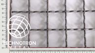 Žebérkové pletivo 40 x 40, průměr drátu 3,15 mm, formát 1000x2000 mm