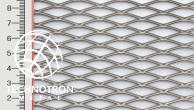 Tahokov TR 28 x 9 x 1,6 mm,  1x1000x2000 mm,  tahokov z nerezového plechu 1.4301 - 1.4307
