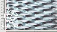Plotová výplň Fair z tahokovu TR 62,5 x 22 x 9 mm, 1,5x2000x1500 mm, tahokov z ocelového plechu DC01-DC05