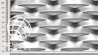 Plotová výplň Flexibility TR 90 x 32 x 13 x 1,5 mm; tahokov z ocelového plechu DC01 - DC05
