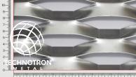 Plotová výplň z tahokovu Creativity  TH 150 x 56 x 21 x  2 mm, tahokov z hliníkového plechu ENAW1050