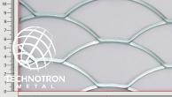 Plotová výplň TJX Rybí šupina 150 x 52 x 4 mm, 4.0 x 1250 x 2000, Tahokov z ocelového plechu DD11-DD13/S235